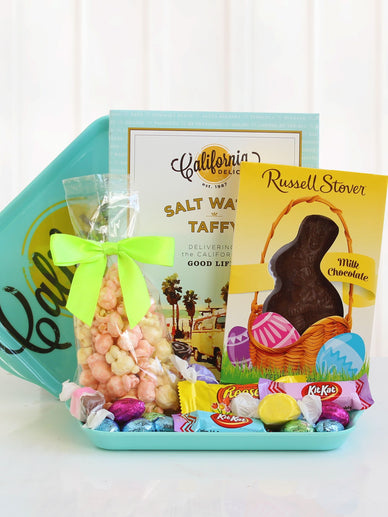 Easter Tray of Goodies Gift Basket