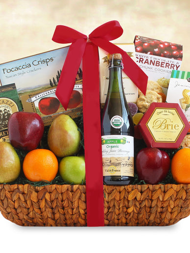Healthy Wealthy and Wise Gourmet Gift Basket