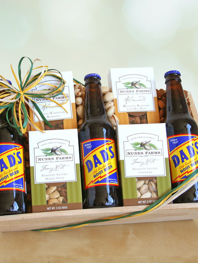 California Farm Nut Gift Basket