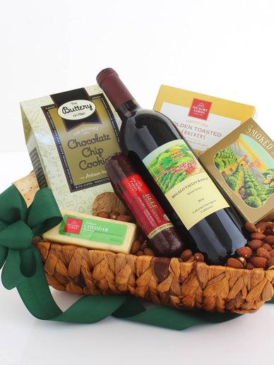 Cheers! Celebration Wine Gift Basket