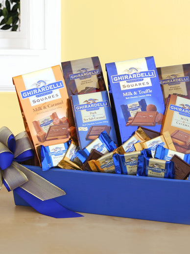 Ghirardelli Galore Chocolate Gift Basket