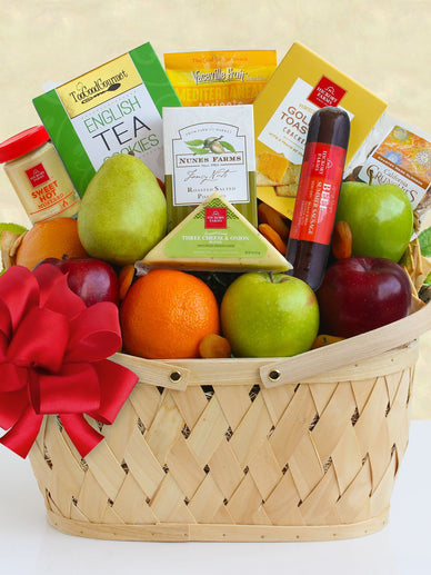 California Bountiful Fruit Gift Basket