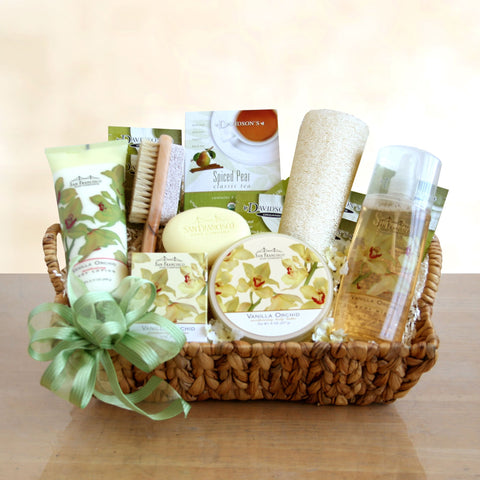 Perfect for Pampering Spa Gift Basket