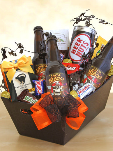 Pirate Jack's Booty Halloween Gift Basket