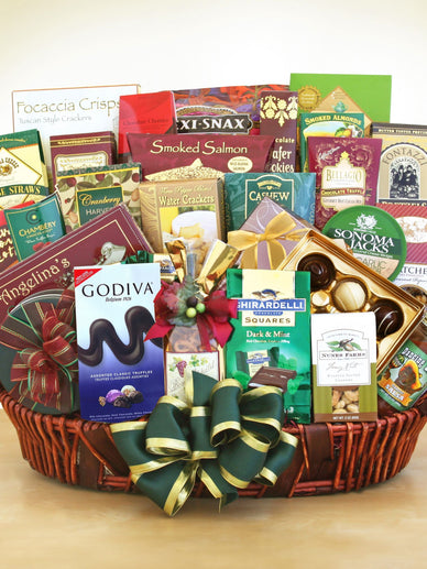 Grand Gourmet Holiday Gift Basket