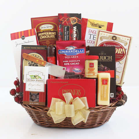 For the Whole Office Gourmet Gift Basket