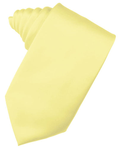 Canary Luxury Satin Necktie
