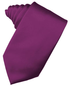 Sangria Luxury Satin Necktie