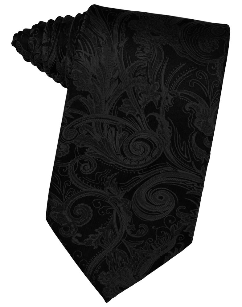 Black Tapestry Necktie