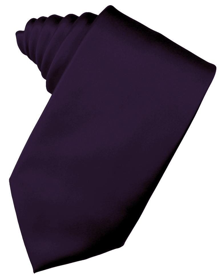 Amethyst Luxury Satin Necktie