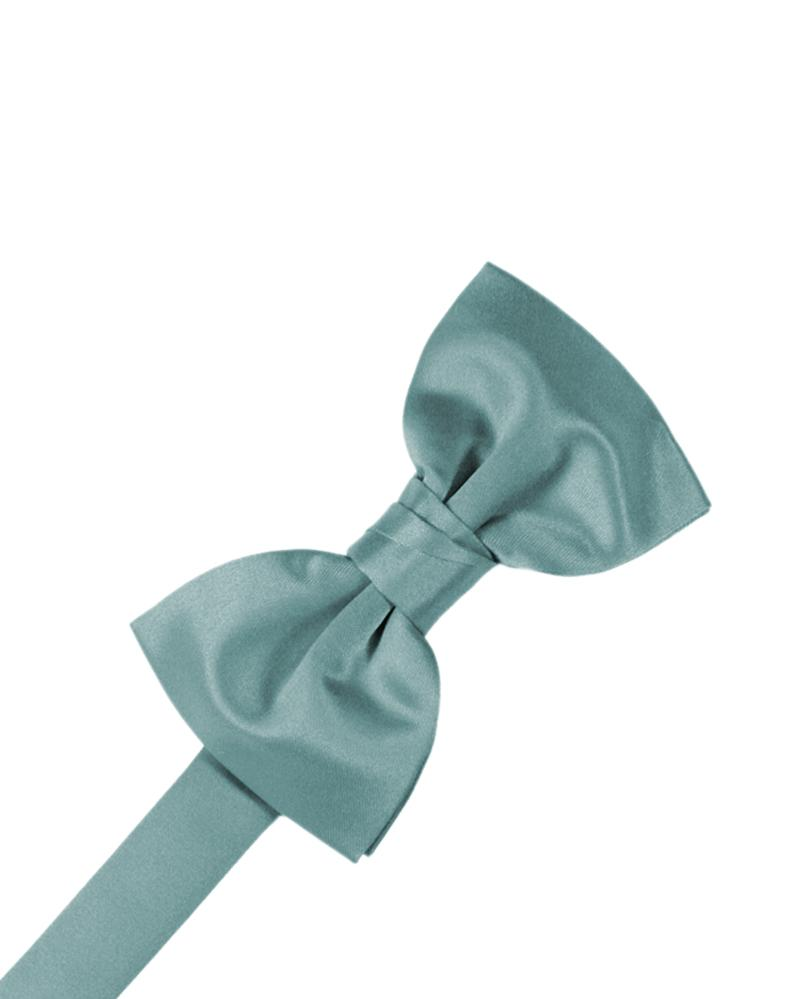 Mist Luxury Satin Bow Tie