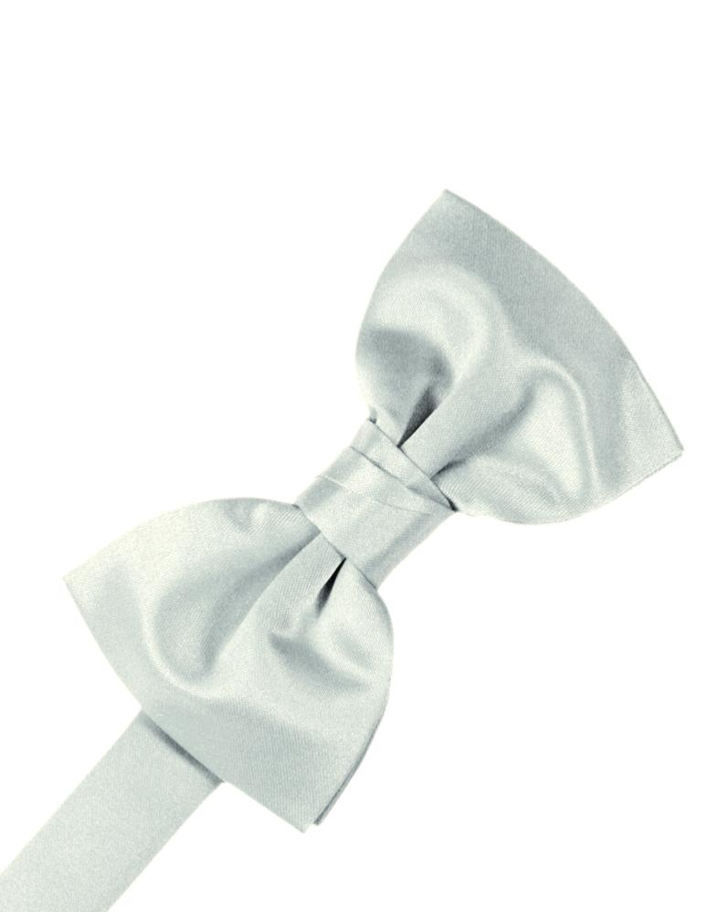 Sea Glass Luxury Satin Bow Tie