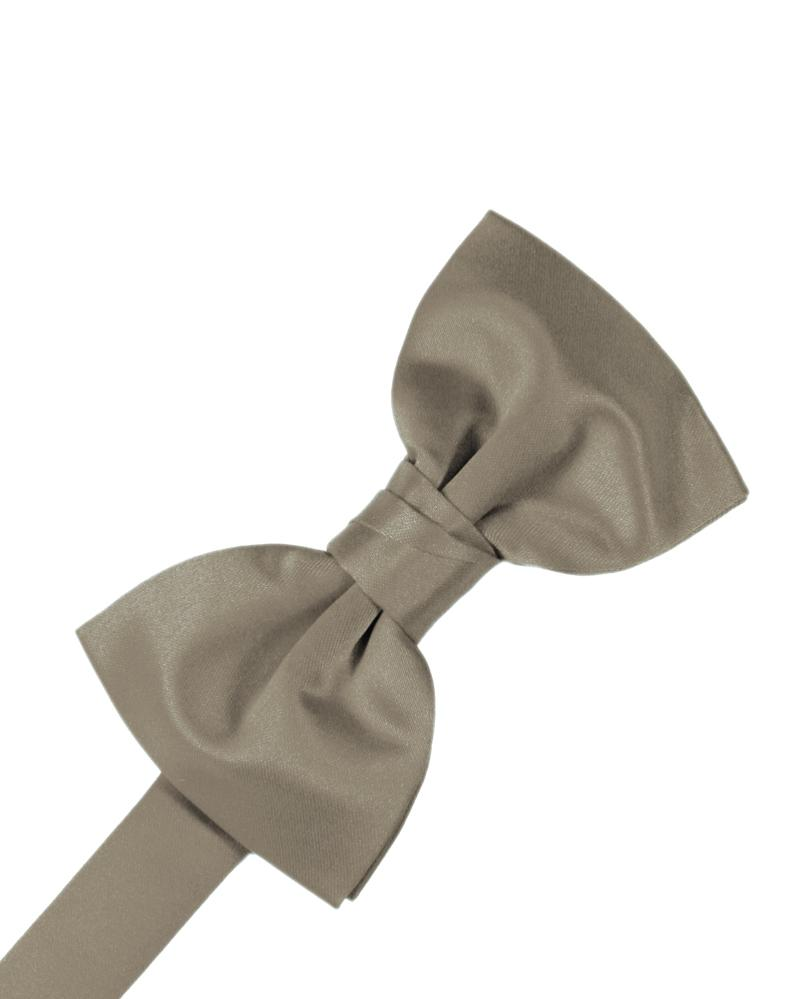 Stone Luxury Satin Bow Tie