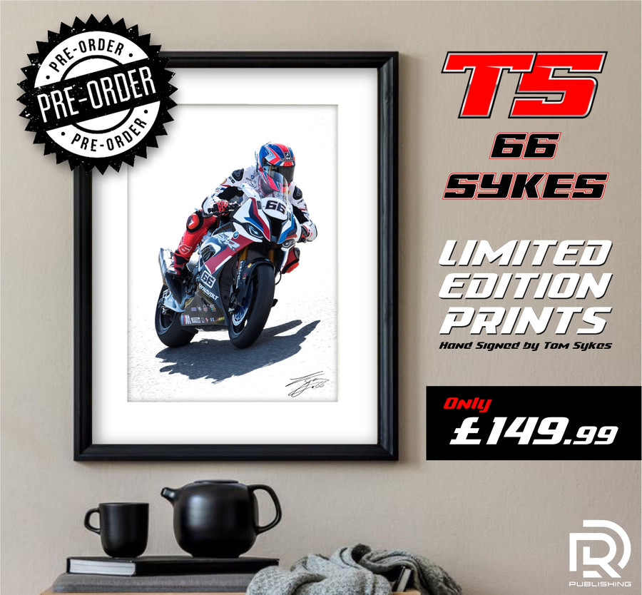 Tom Sykes Signed limited edition print.