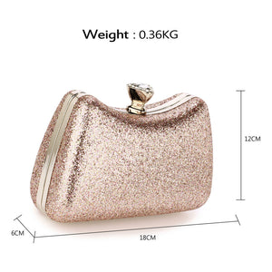 Clutch Pink Diamant