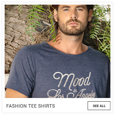 FRESH MOOD MEN'S FASHION TEE SHIRT MODEL