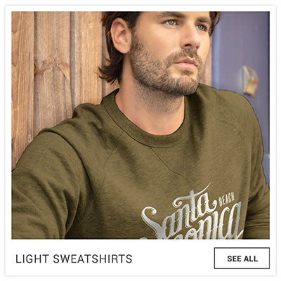 FRESH MOOD MEN'S LIGHT SWEATSHIRT MODEL