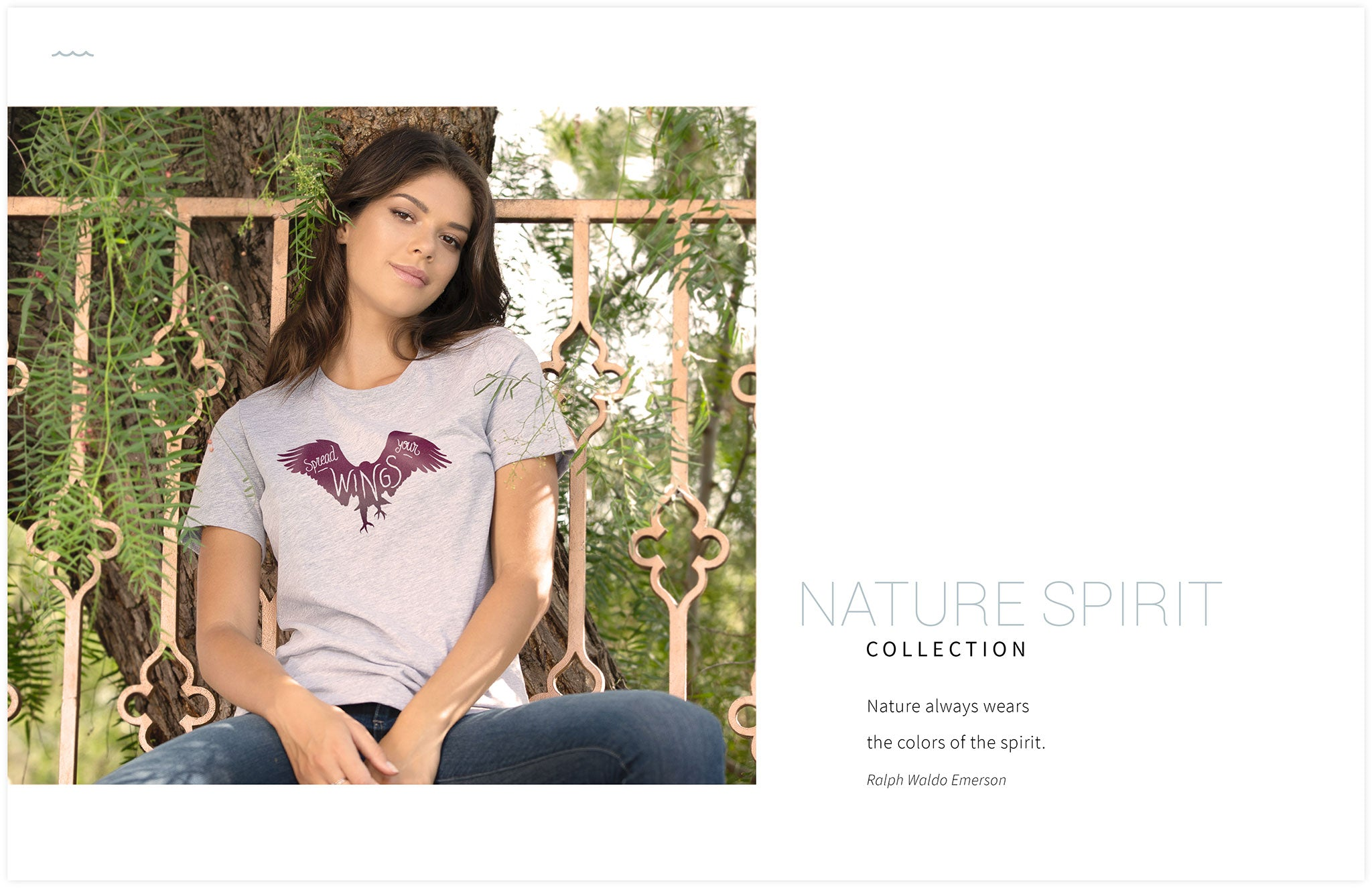 FRESH MOOD LOOK BOOK 2018 | NATURE SPIRIT PRINTED APPAREL DESIGN COLLECTION