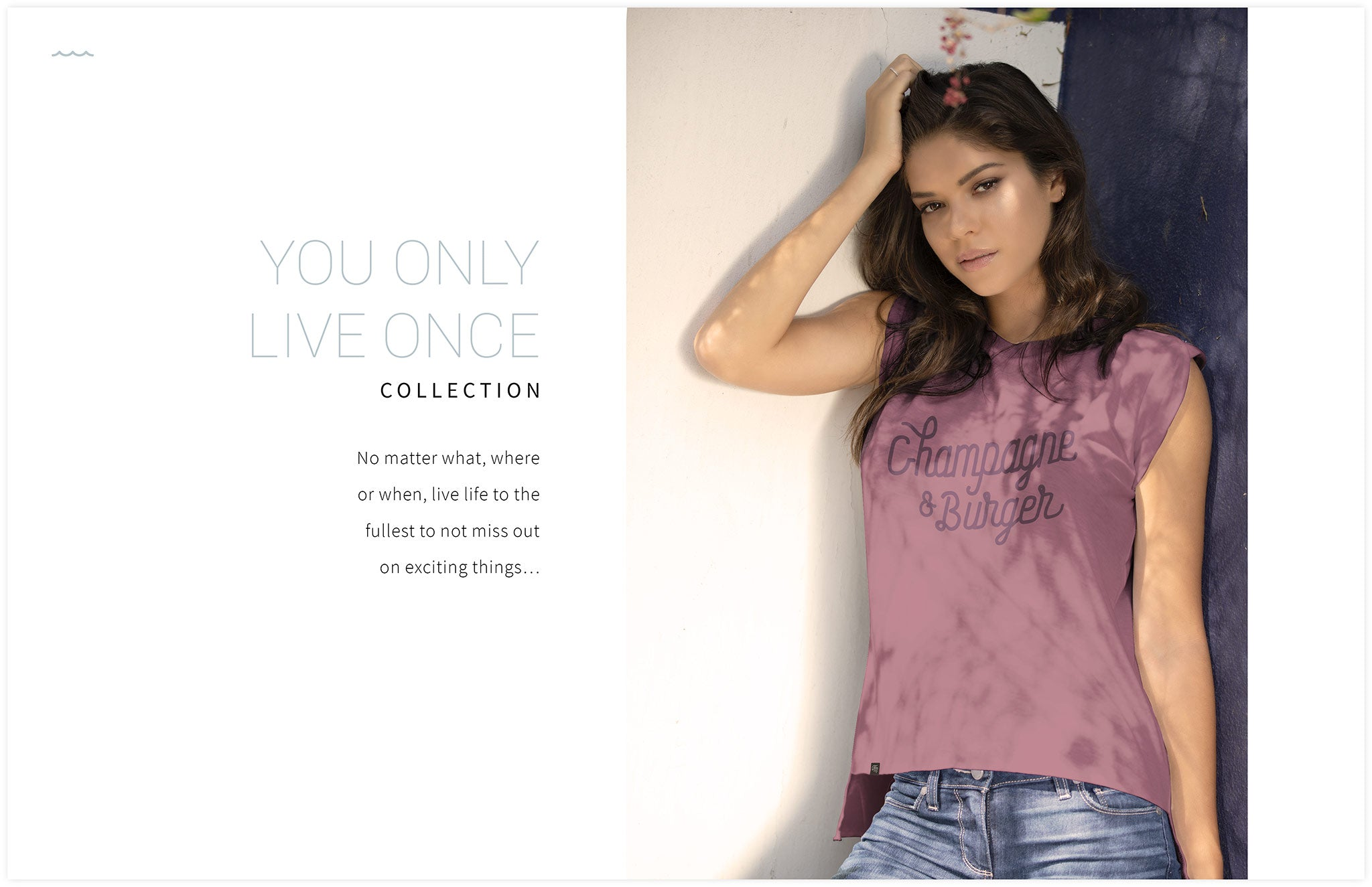 FRESH MOOD LOOK BOOK 2018 || YOU ONLY LIVE ONCE PRINTED APPAREL DESIGN COLLECTION