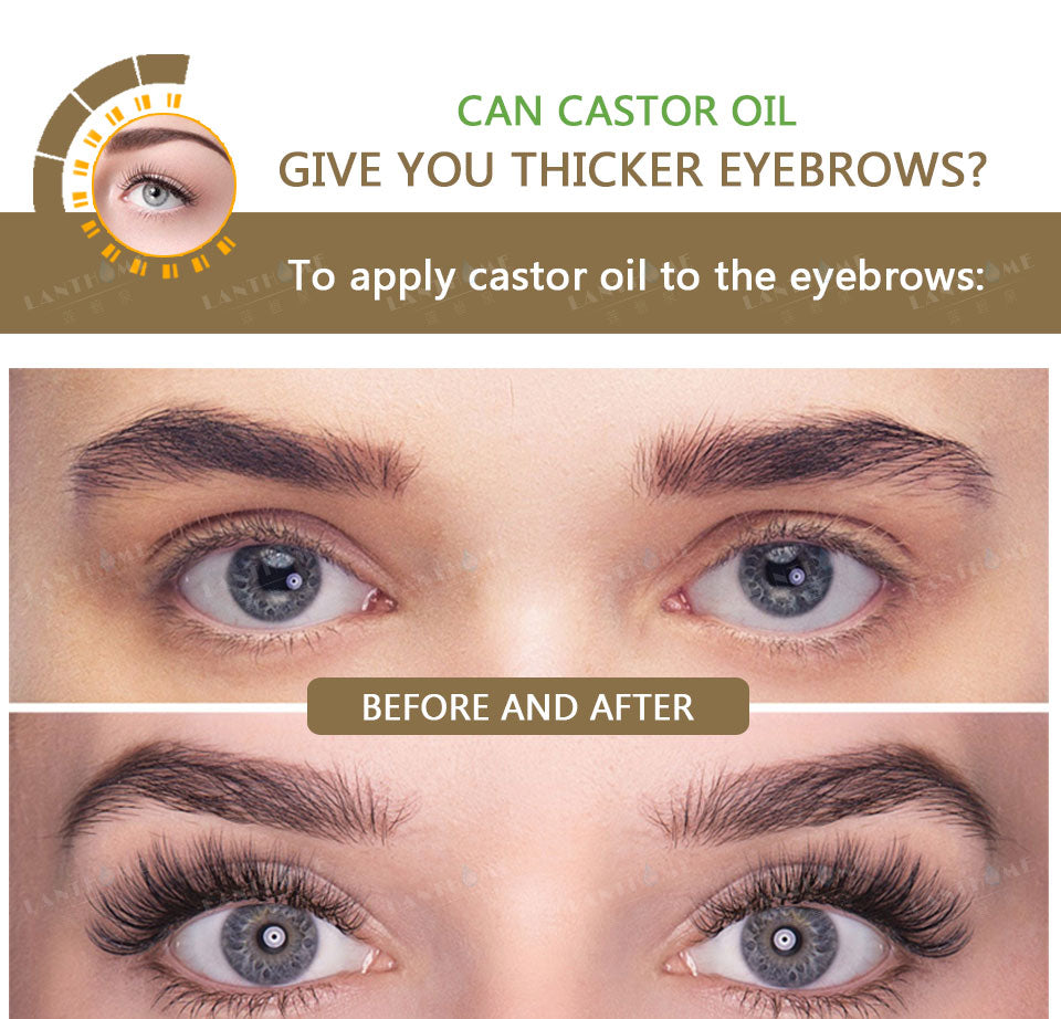 Castor Oil For Hair Growth Eyelash Growth Lifting Feg Eyebrow