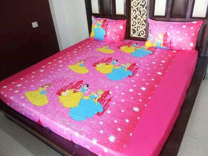 Kids Princess Fitted BedSheet