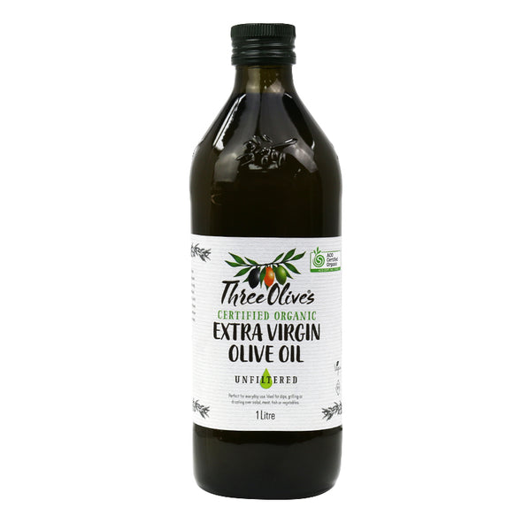 ORGANIC EXTRA VIRGIN OLIVE OIL 1 litre
