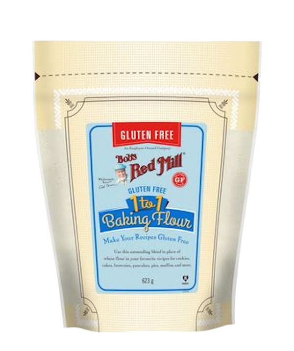 BOB'S RED MILL GLUTEN-FREE 1 TO 1 BAKING FLOUR 624g