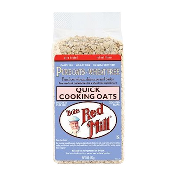 BOB'S RED MILL QUICK COOKING ROLLED OATS PURE WHEAT-FREE 453g