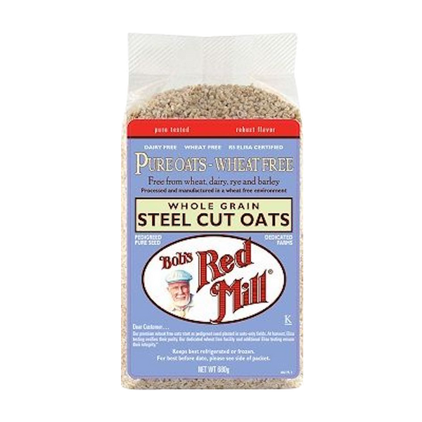 BOB'S RED MILL PURE WHEAT-FREE STEEL CUT OATS 680g