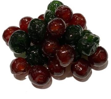 GLACED RED & GREEN CHERRIES