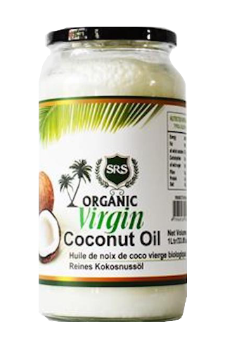 SRS ORGANIC VIRGIN COCONUT OIL
