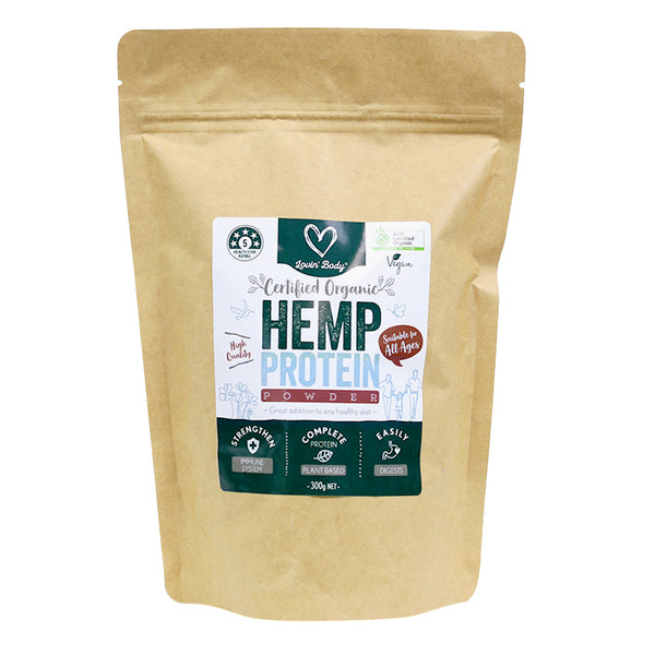 ORGANIC HEMP PROTEIN POWDER 300g