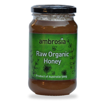 ORGANIC RAW AMBROSIA HONEY