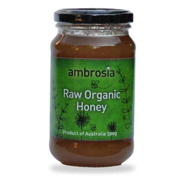 AUSTRALIAN ORGANIC RAW AMBROSIA HONEY