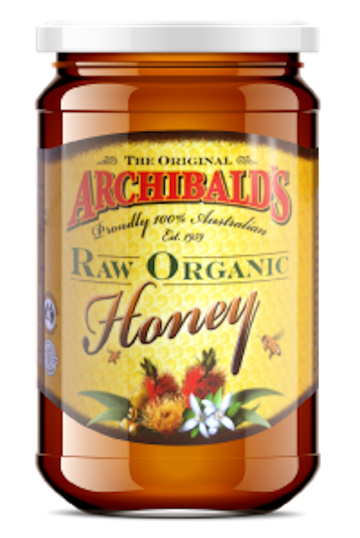 ORGANIC RAW ARCHIBALDS HONEY 500ml