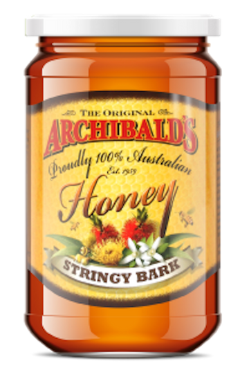 ARCHIBALDS STRINGY BARK HONEY