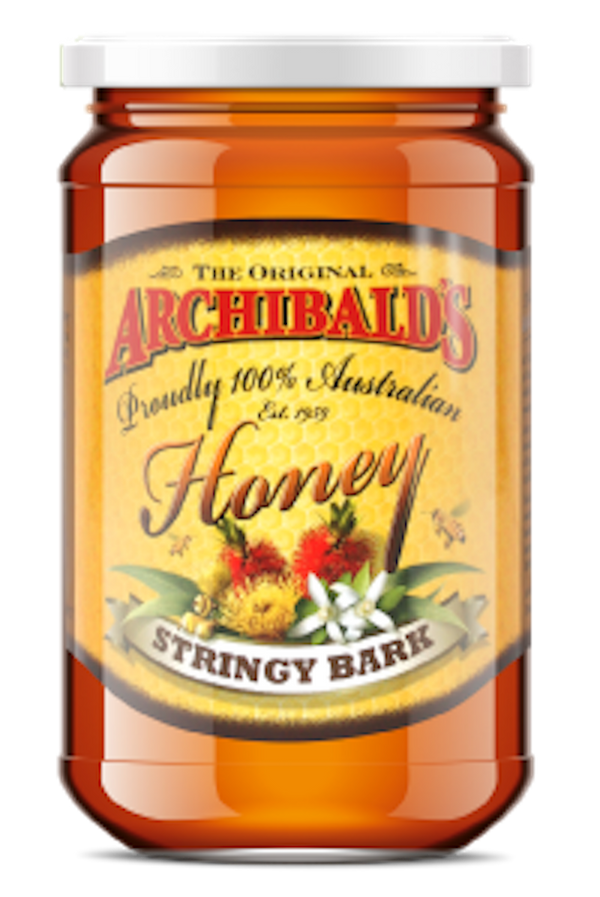 AUSTRALIAN ARCHIBALDS STRINGY BARK HONEY