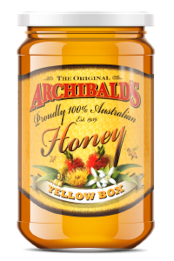 ARCHIBALDS YELLOW BOX HONEY