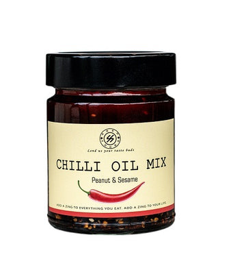 CHILLI OIL MIX WITH PEANUT & SESAME 250g