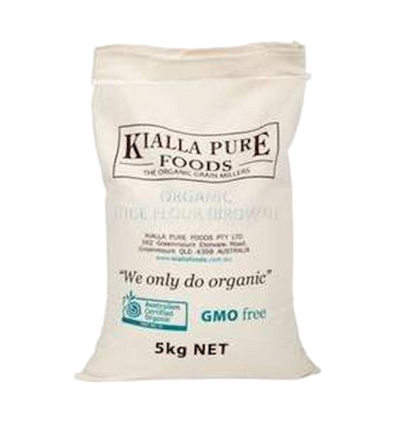 KIALLA ORGANIC BROWN RICE FLOUR 5kg