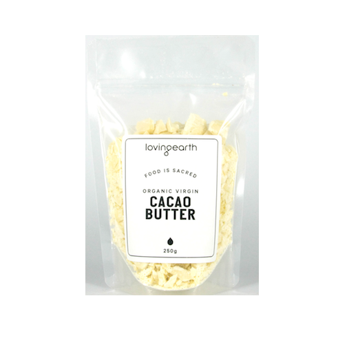 LOVING EARTH CACAO BUTTER ORGANIC 250g