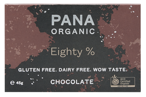 PANA EIGHTY CHOCOLATE ORGANIC