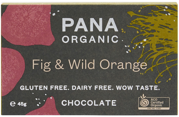 PANA FIG & WILD ORANGE ORGANIC CHOCOLATE
