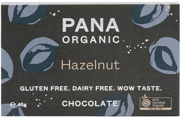 PANA HAZELNUT ORGANIC CHOCOLATE