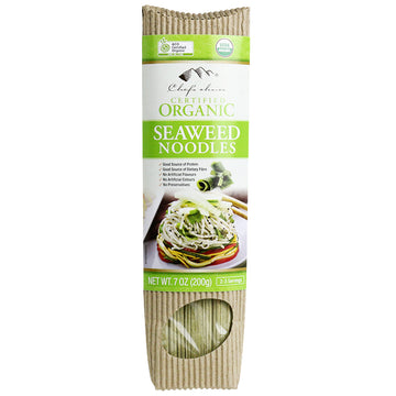 CHEF'C CHOICE ORGANIC SEAWEED NOODLES 200 grams