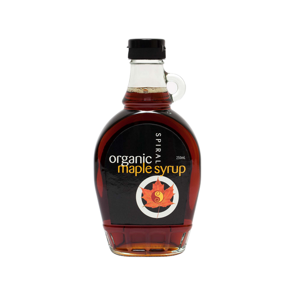 SPIRAL PURE ORGANIC MAPLE SYRUP 250ml