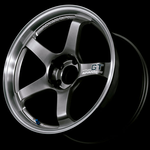 Advan GT 19x10.0 +22 5-120 Machining & Racing Hyper Black Wheel