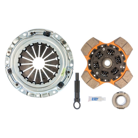 EXEDY STAGE 2 4-PAD CLUTCH KIT: MITS/DODGE/EAGLE/PLYMOUTH