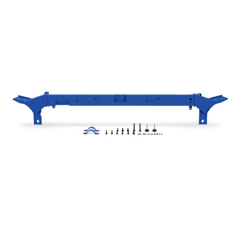 Mishimoto 2008-2010 Ford 6.4L Powerstroke Upper Support Bar - Wrinkle Blue