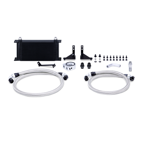Mishimoto 14-16 Ford Fiesta ST Non-Thermostatic Oil Cooler Kit - Black